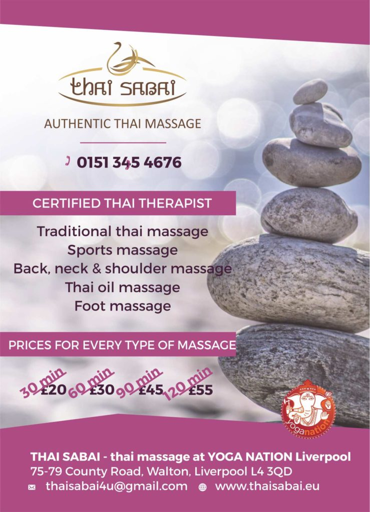 thai massage liverpool - thai sabai